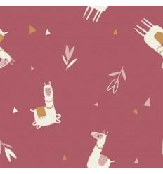 Jersey Llamas - Katia Fabrics