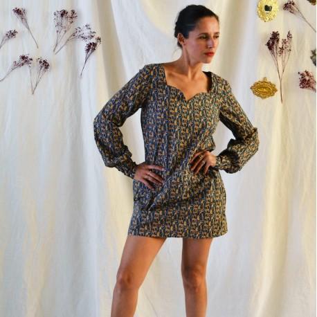 Craie dress - Maison Fauve