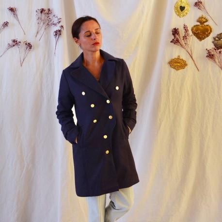 Tsar coat, trench - Maison Fauve