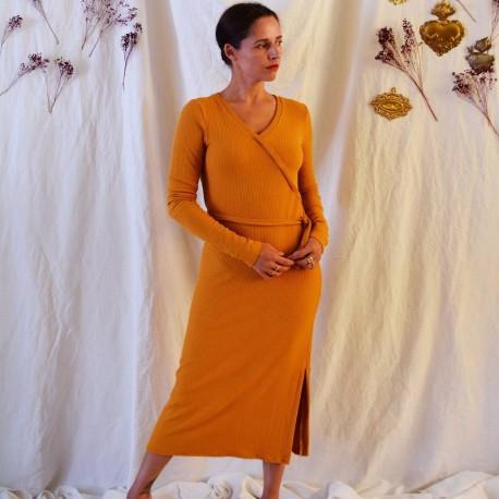 LUDMILLA Dress, blouse - Maison Fauve