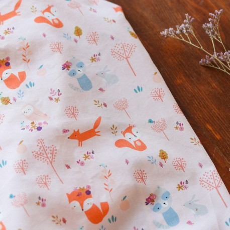 Poplin Woodland friends - Lise Tailor