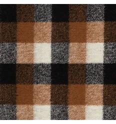 Wool blend, Buffalo plaid