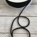Gummikordel - schwarz