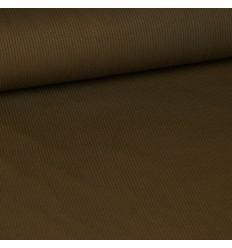 Ribbed jersey knit - Khaki