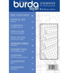 Grid tissue paper - Burda
