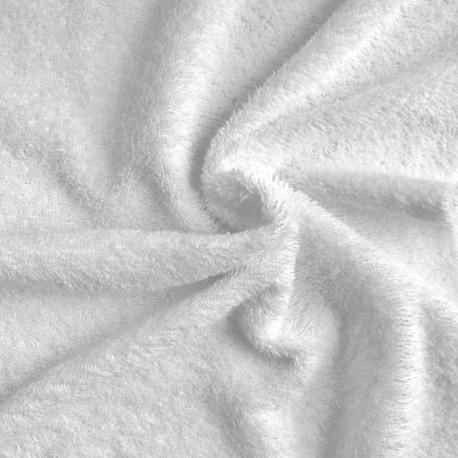 Tissu éponge - blanc