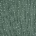 Double Gauze - Dots, Water green