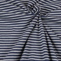 Jersey - navy / white stripes