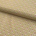 Retro style cotton - Ochre