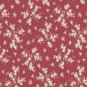 Coton Fleurs - Rouge
