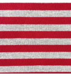 Sweat Streifen Rot-Grau