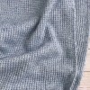 Maille tricot - bleu, lurex