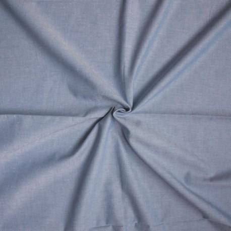 Baumwolle Batist - Blau melange