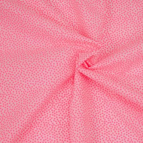 Cotton batiste Neon Dots
