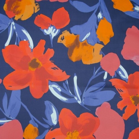 Stretch Cotton - Flowers