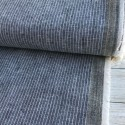 Cotton Linen Navy Stripes