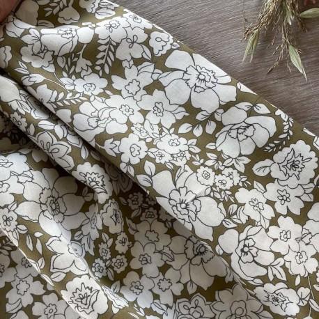 Vintage striped Swiss dot - Katia Fabrics