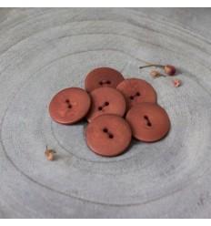 Palm Button - Chestnut