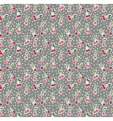 Cherry cotton - Gray