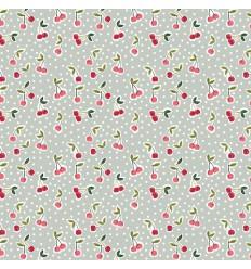 Cherry cotton - Mint