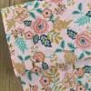 Coton Paisley - Rose