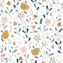 Poplin Flowers - Katia Fabrics