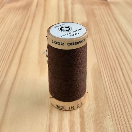 Bobine de Fil 100% Coton Bio - Noyer