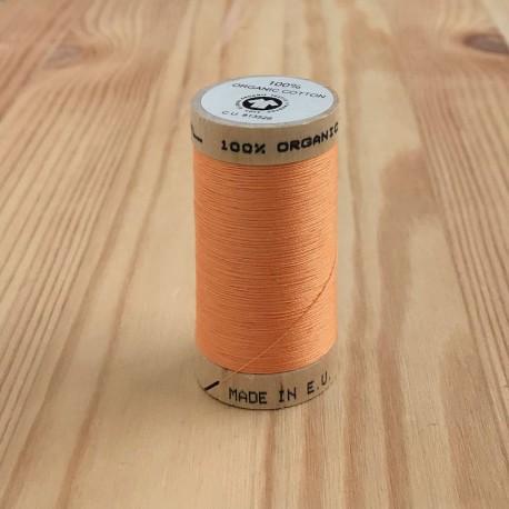 Bobine de Fil 100% Coton Bio - Orange