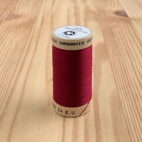 Bobine de Fil 100% Coton Bio - Bordeaux