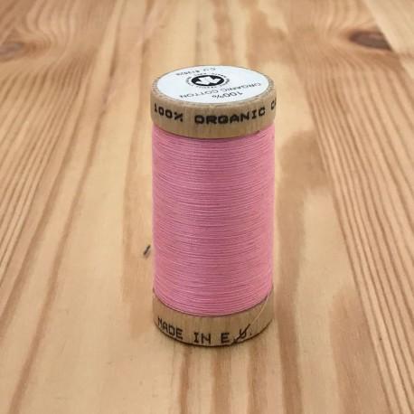 Bobine de Fil 100% Coton Bio - Rose