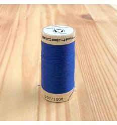 Fil Coton Bio - Bleu Royal