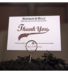 Präsentations-Pins Merchant & Mills