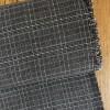 Checkered gabardine - anthracite