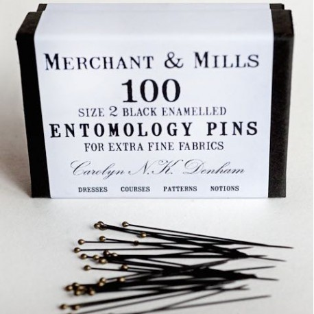 Epingles d'entomologie - Merchant & Mills