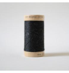 Bobine de Fil 100% Coton Bio - Noir