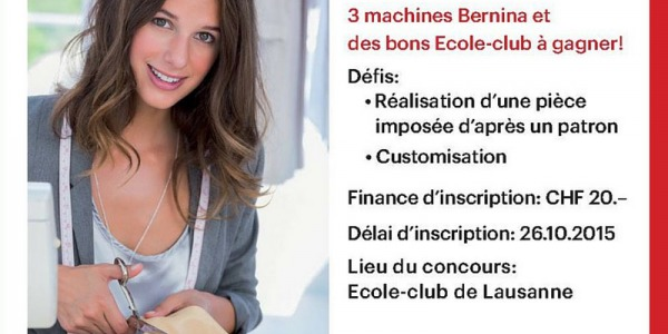 Concours Couture Ecole-Club Migros